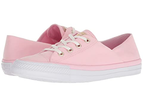Womens CTAS Coral Ox Slip on Trainers, Cherry Blossom Converse