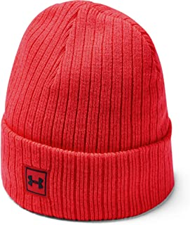 Men's Truckstop Beanie 2.0, Beta Red (632)/Black, One Size Fits all