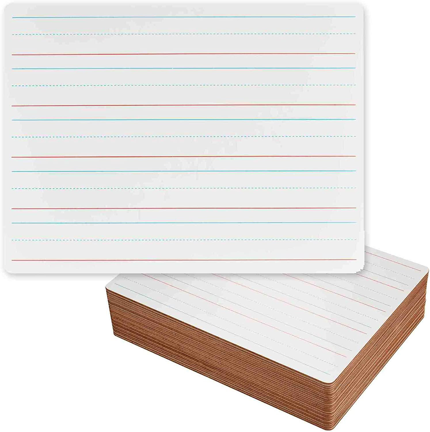 Dry Erase Lapboards with Fort Worth Mall Lines - Pack Lined Over item handling ☆ 25 Set of Whiteboard