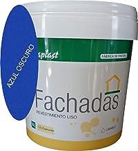 PINTURA FACHADAS COLORES Durcaplast: Revestimiento de fachadas colores mate. Extraordinaria resistencia al roce, máxima resistencia a la intemperie y al envejecimiento. (14L, AZUL OSCURO 32)