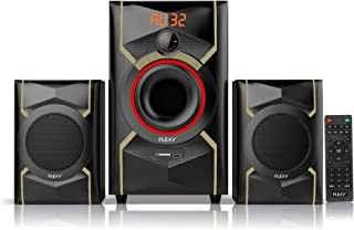 FLEXY® Germany 2.1 Channel 25000W PMPO Home Theater Sytem With Remote, Bluetooth, USB/Card And FM Radio