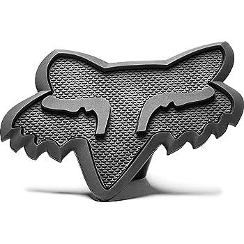 MOTOCROSS ATV RZR RANGER Fox Racing Grey Fox Head Trailer Hitch 2 Cover #16124-324-NS