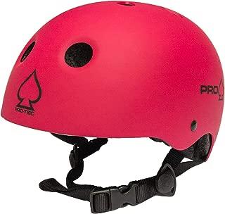 Pro-Tec Classic Certified Skate Helmet (Matte Pink,  Small)