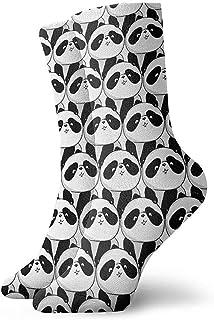 Dydan Tne, Niños Niñas Locos Divertidos Lindos Patrones Blancos y Negros Patrones de Animales Calcetines Lindos Calcetines de Novedad