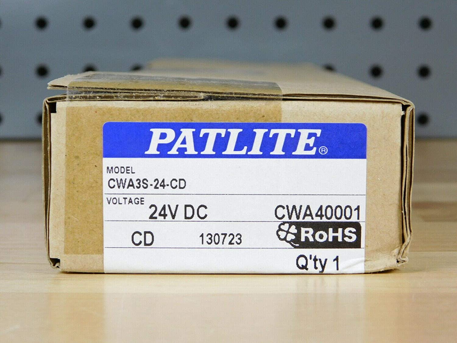 PATLITE CWA3S-24-CD Side-EXITING Cable Daylight Spring new work Slim 300 Finally popular brand L MM