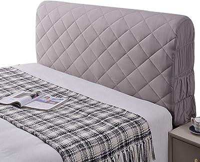 Headboard Cover,Super Soft Comfotable Short Plush Bed Head Slipcover Washable Dustproof Headboard Protector Stretch Bed Headboard Slipcovers,B-1.5m