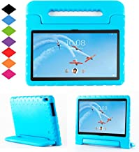 TIRIN Lenovo TAB 4 10 Plus Case- Light Weight EVA Shock Proof Convertible Handle Stand Case Cover for Lenovo TAB 4 10 Plus 2017 Tablet(TB-X704F/N)(NOT fit Lenovo TAB 4 10 Tablet TB-X304F/N), Blue