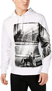 Calvin Klein Jeans Mens Rodeo Graphic Active Hoodie