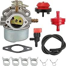Wellsking 640052 Carburetor for Tecumseh HMSK80 HMSK85 HMSK90 8hp 9hp 10hp LH318SA LH358SA for Snow Blower Generator Chipper Shredder 640054 640349 Carb
