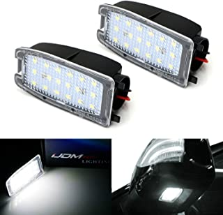iJDMTOY White LED Under Side Mirror Puddle Lights For Land Rover Range Rover, Range Rover Sport, LR2 LR3 LR4, (Powered by 18 pcs White SMD LED Lights)