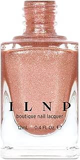 ILNP Chelsea - Pale Rose Gold Holographic Metallic Nail Polish