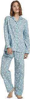 Sponsored Ad - GLOBAL Womens Pajamas Set 100% Cotton Womens PJs Drawstring Sleepwear for Women