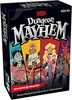 Dungeons and Dragons Dungeon Mayhem Board game - 120 Cards, 2-4 Players