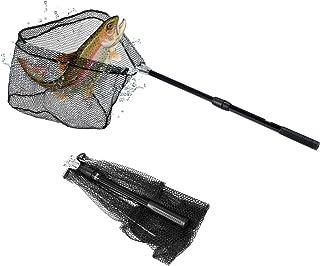 Dr.meter Fishing Net, Foldable Fish Landing Net for...