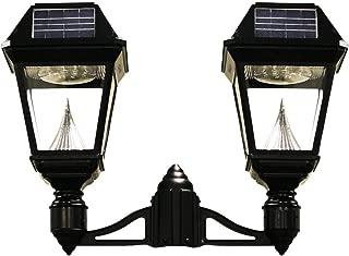 GAMA SONIC Imperial II Solar Light, 2-Head Lamp, 3