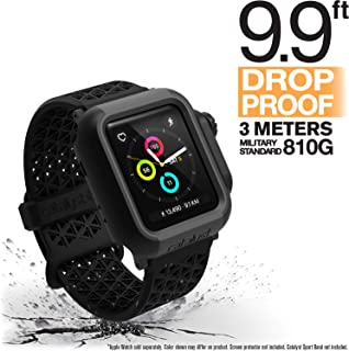 Apple Watch Case 38mm Series 3 & Series 2 for by Catalyst– Drop Proof Shock Proof Impact Protection Apple Watch case [Rugged iWatch Protective case], Stealth Black