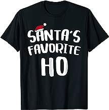 Santa's Favorite Ho T-Shirt Christmas Gift Shirt