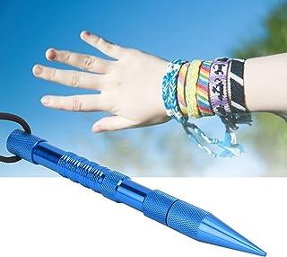 Eulbevoli Bracelet en Forme d'aiguille en paracorde, Pas Facile à rouiller