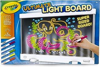 Crayola Ultimate Light Board، قرص رسم، هدیه برای کودکان، سن 6، 7، 8، 9