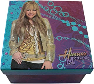Disney's Hannah Montana Blue and Purple Colored Keepsake Jewelry Box