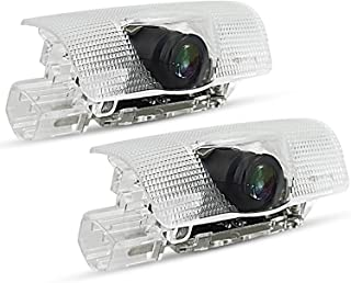 OXILAM Car Door LED Logo for Lexus Projector Ghost Shadow RX/ES/GX/LS/LX/is, Entry Welcome Lamp Logo Light, Running Board Lights, Ground Lamp Kit Replacement (2 Pack)