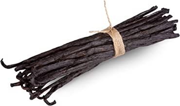 Madagascar Vanilla Beans - Gourmet Bourbon Grade A. Great for baking, making pure vanilla extract, vanilla paste etc. Aver...