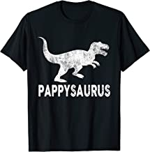 Pappysaurus Shirt Pappy Dinosaur Fathers Day Gifts Men Daddy