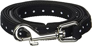 Puppia Dotty Lead Leashes, Medium, Black