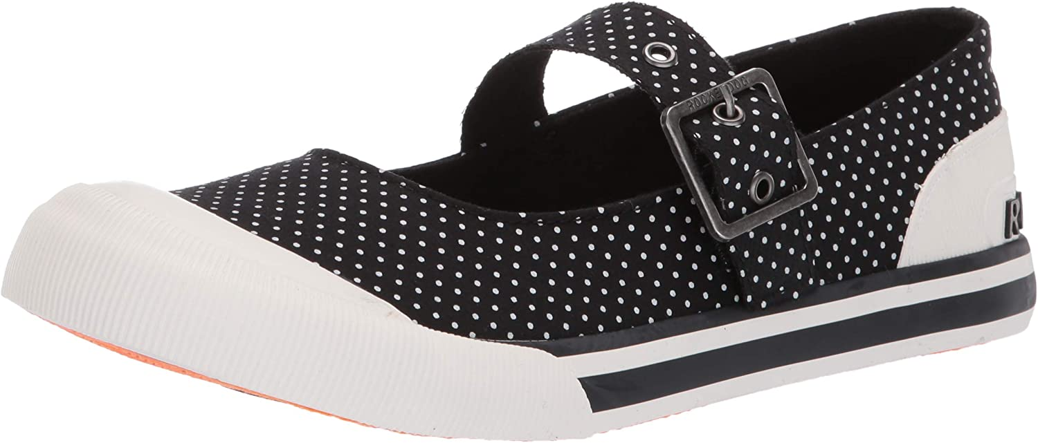 Rocket Dog Womens Jazzinjane Adot Cotton Sneaker