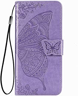 FanTing Case for Xiaomi Poco M2 Pro, Wallet Flip Cover with Mobile Phone Holder and Card Slot,Magnetic PU leather wallet c...