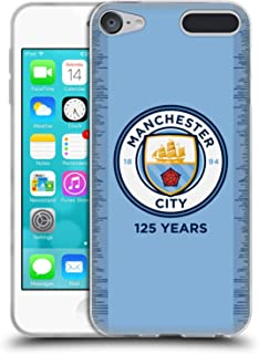 Official Manchester City Man City FC 2018/19 Kit 125 Year Anniversary Soft Gel Case Compatible for Touch 6th Gen/Touch 7th Gen