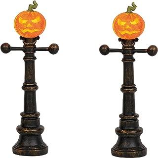 Department 56 Village Collections Accessories Halloween Street Lamps Figurines, 4.875