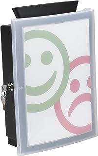 HAN 4102Boîte image 'in; La Urnes, Don Boîte innovante; losbox ou d'action Boîte en forme de Best, noir