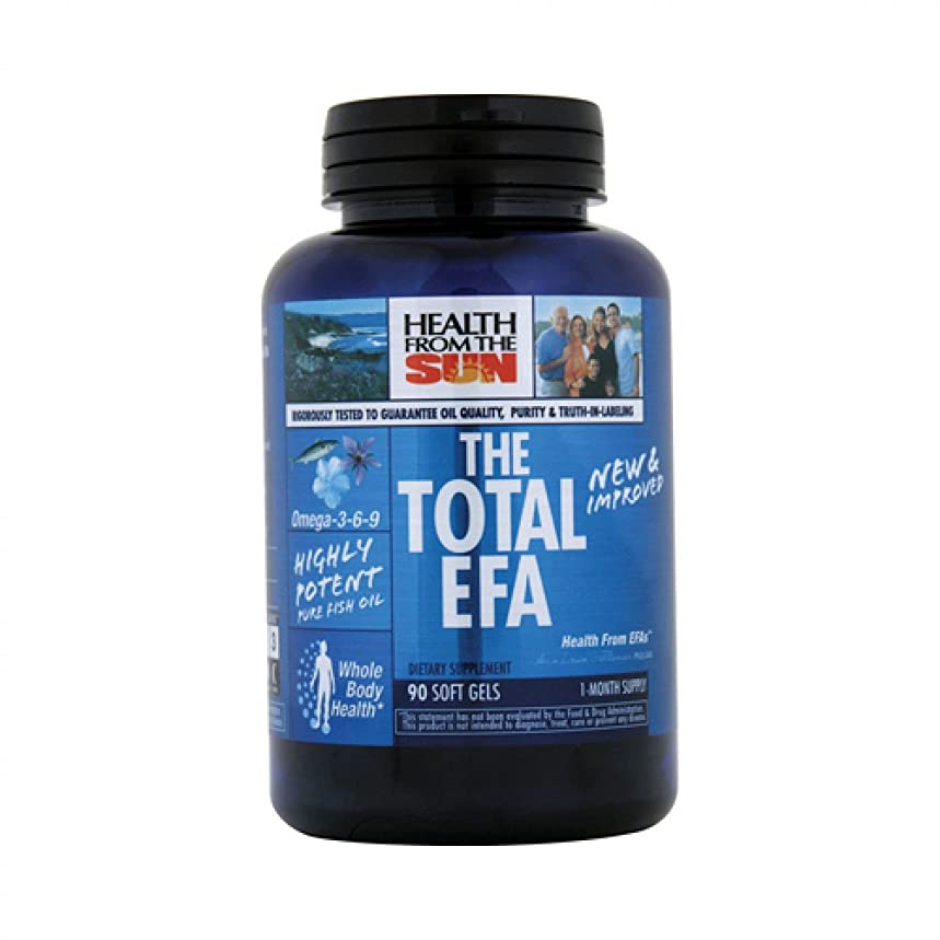HEALTH FROM THE SUN TOTAL EFA 1200 MG, 90 SGEL