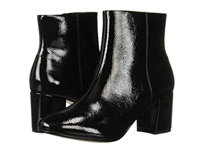 Clarks Chantelle Stone (Black Synthetic Crinkle Patent) Women