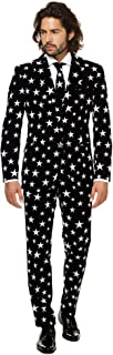 Mens Suit - Full Set: Pants, Jacket & Tie – Great for New Year's Eve