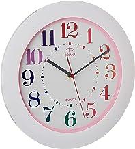 Dojana Wall Clock, White, DWG015