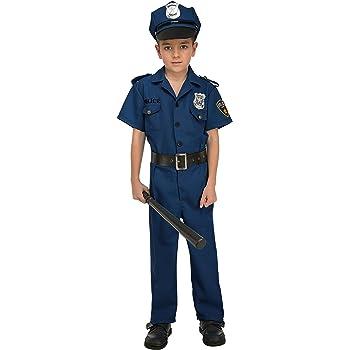 My Other Me Me-204237 Disfraz de policía para niño, 3-4 años ...