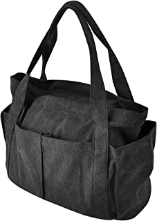 Women's Tote Bag Canvas Large Capacity Work Tote Shoulder Bag