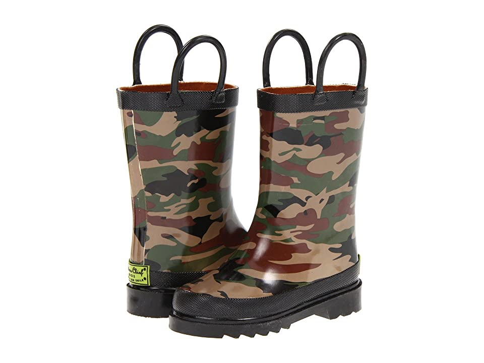 Western Chief Kids Limited Edition Printed Rain Boots (Toddler/Little Kid) (Camo) Boys Shoes