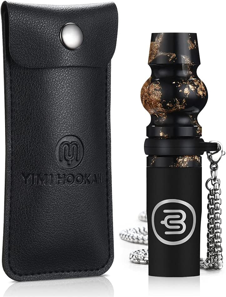 Yimi Hookah Mouthpiece Luxury Max 76% OFF Resuable Mouth NEW before selling Resin Tips Shisha w
