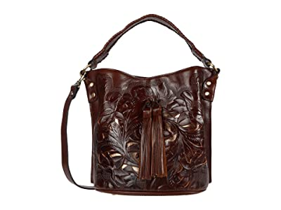 Patricia Nash Otavia Bucket (British Tan) Handbags
