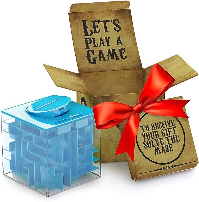 Verpacken rätsel geschenk als Reise Geschenk