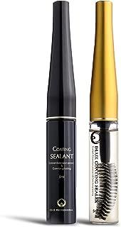 Kit 2 Set COATING SEALER & SEALANT (5ml) DLUX PROFESSIONAL/NATURAL INGREDIENTS/ANTI-AGING/PROTECT & LASH GLOSS/Healthy Eyelashes