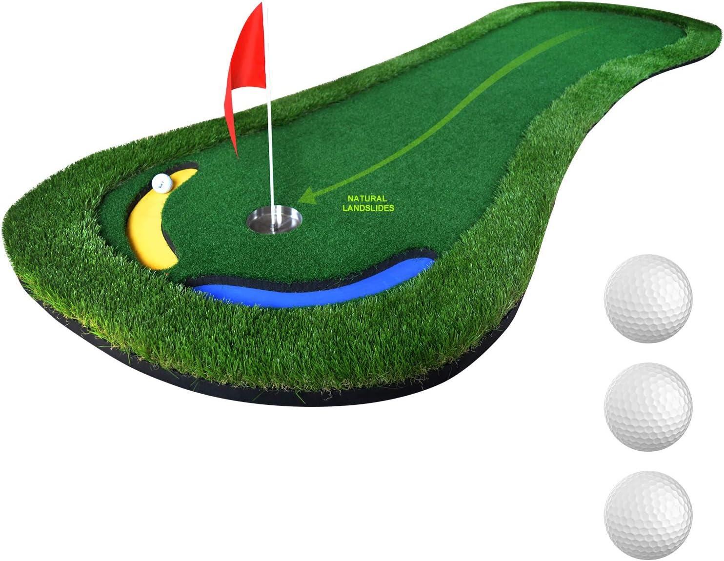 PGM Golf Putting Green 《週末限定タイムセール》 Mat Training Professional Indoor ランキングTOP10