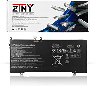 ZTHY CP03XL Laptop Battery Replacement for HP Spectre X360 13 X360 13-ae000 13-ae006no 13-ae001ng 13-ae049ng 13-ae040ng Series HSTNN-LB8E 929066-421 929072-855 TPN-Q199 CP03060XL 11.55V 60.9Wh 5275mAh