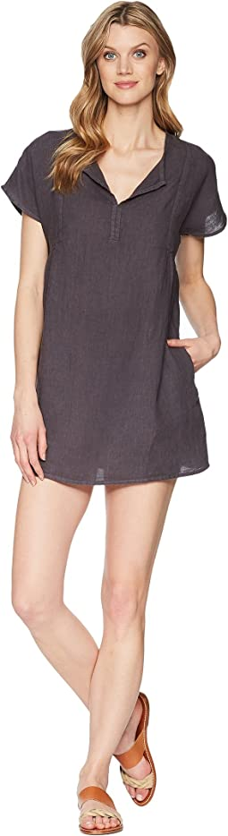 Allen Allen Solid Boxy Pullover Dress