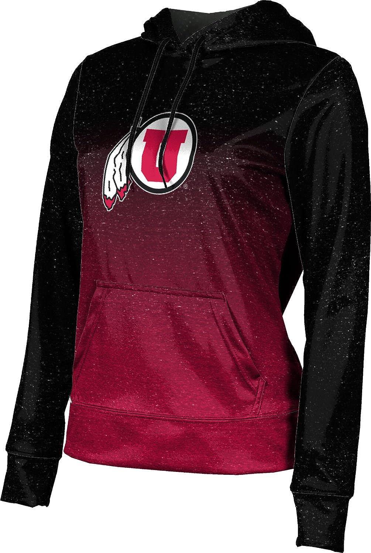 ProSphere University of Utah Girls' Pullover Hoodie, School Spirit Sweatshirt (Ombre)