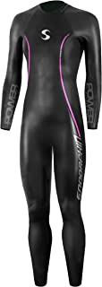 Synergy Triathlon Wetsuit 5/3mm - Women's Endorphin Full Sleeve Smoothskin Neoprene for Open Water Swimming Ironman & USAT Approved