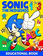 Sónic the Hedgehog ABC Book for Kids: Sónic Letters and Numbers Tracing Book for Kids Ages 3-5 | Sónic Easy Fun Activity W...